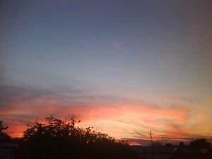 cand soarele apune la tara